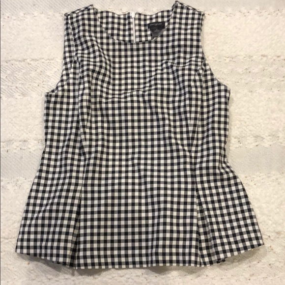 Ann Taylor Tops - Ann Taylor black and white sleeveless top size 4